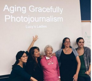 Social  media students - Aging Gracefully Photojournalism