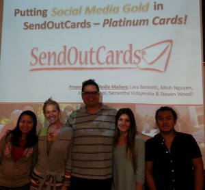 Social media students - SendOutCards