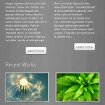 DeepFocus theme layout on small screen or mobile device