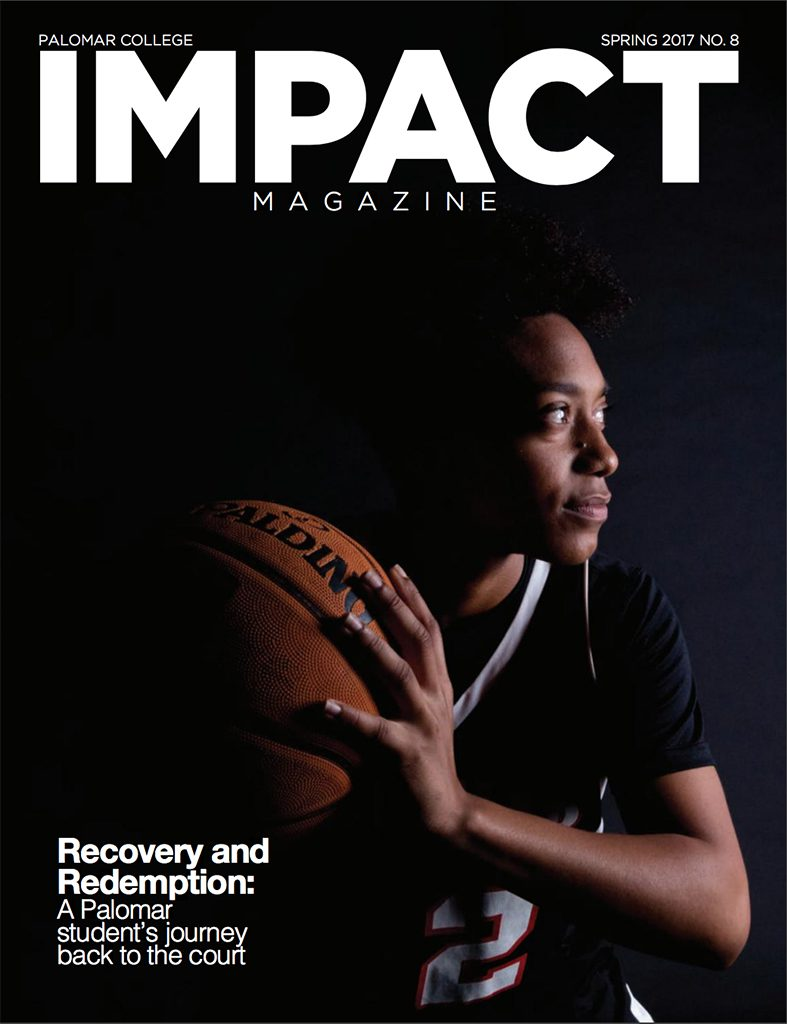 Front cover of Impact Magazine Spring 2017