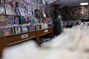 Spindles record store in Temecula, Calif. Andrew Meer/The Telescope
