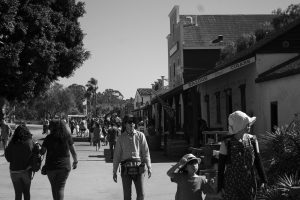 Guests at Old Town San Diego.