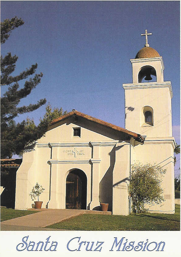 Mission Santa Cruz built in Minecraft for the - Pinterest