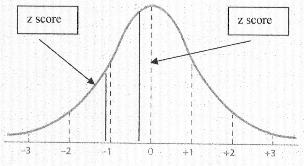 The ZScore Formula for Standard Bell Curves  ThoughtCo